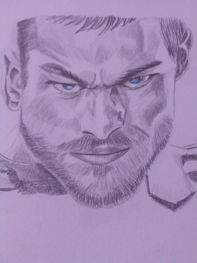 Andy Whitfield by rouby